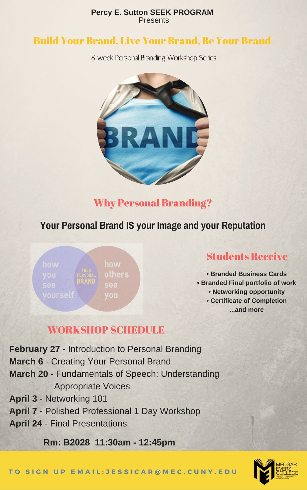 MEC Student Workshop Series