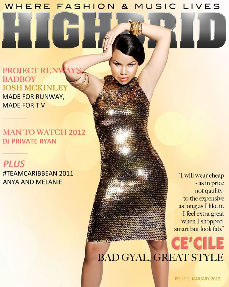 CE'CILE, Highbrid Magazine