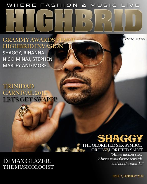 SHAGGY, Highbrid Magazine