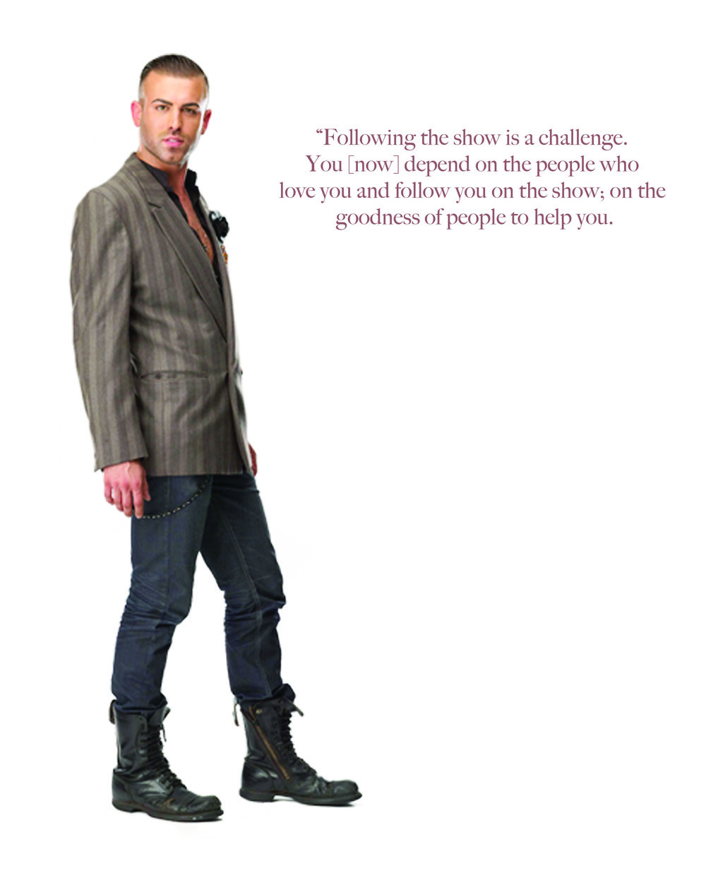 JOSHUA MCKINLEY (Project Runway), Highbrid Magazine
