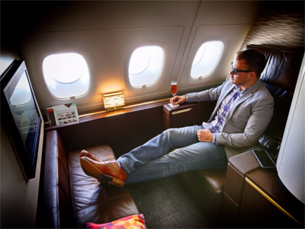 "Yep, First Class ""Apartment"" with Etihad... I'm Jealous too! Image: Business insider, link here"