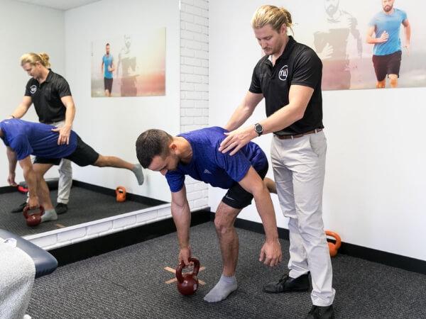 Brett McGhie Physio Ankle