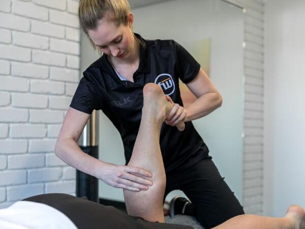 Lauren Schoonens Calf Physio