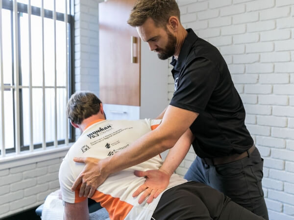 Ross Field Physio Back