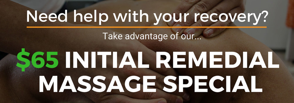 Perth Inglewood Remedial Massage Special