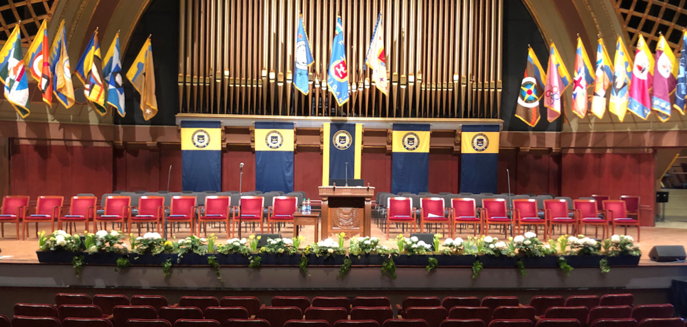 Honors Convocation, Hill Auditorium