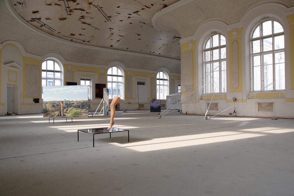 Installation view, photo by Julius Unterberger,©2016