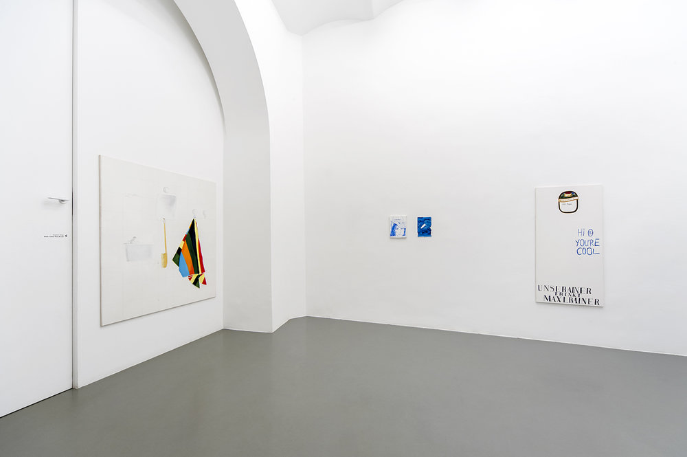 And I Like You A Lot, installation view, Gallery Crone, Vienna, 2016 ©Simon Verres