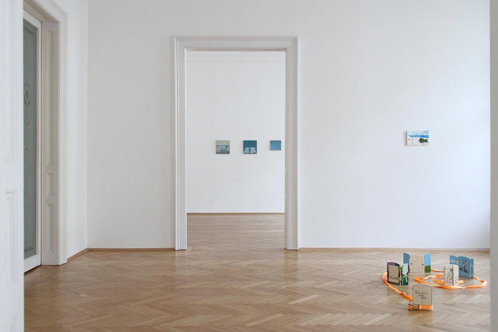 ROCK BOTTOM SHOW, Michael Fanta & Sophie Gogl, installation view
