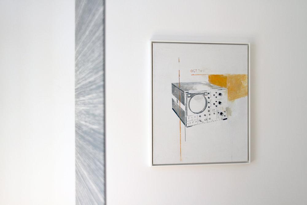 installation view, Julian Palacz, Agnes Fuchs