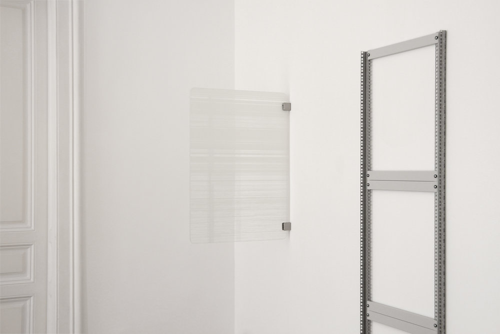 installation view, Julian Palacz, Ulrich Nausner