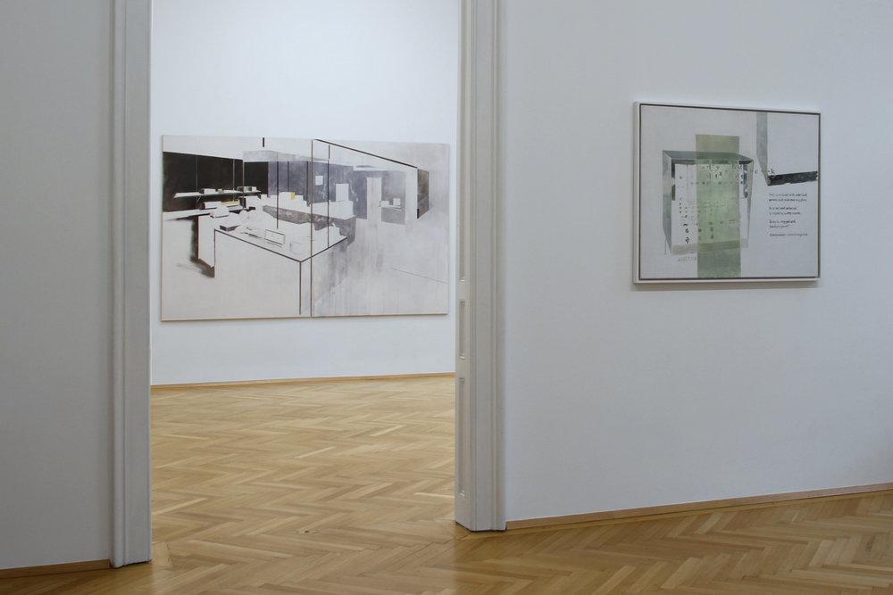 installation view, Agnes Fuchs