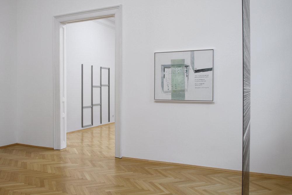 installation view, Ulrich Nausner, Agnes Fuchs, Julian Palacz