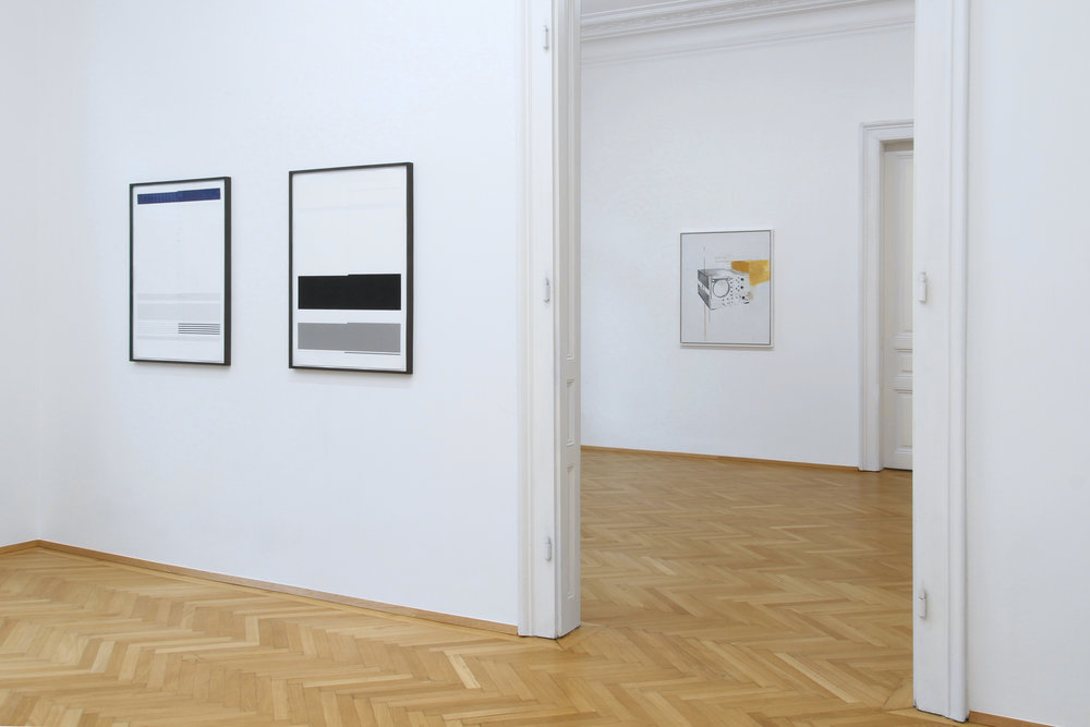 installation view, Ulrich Nausner, Agnes Fuchs