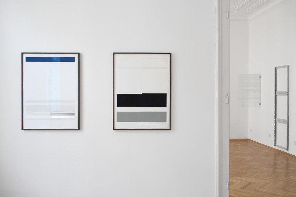 installation view, Ulrich Nausner, Julian Palacz, Ulrich Nausner