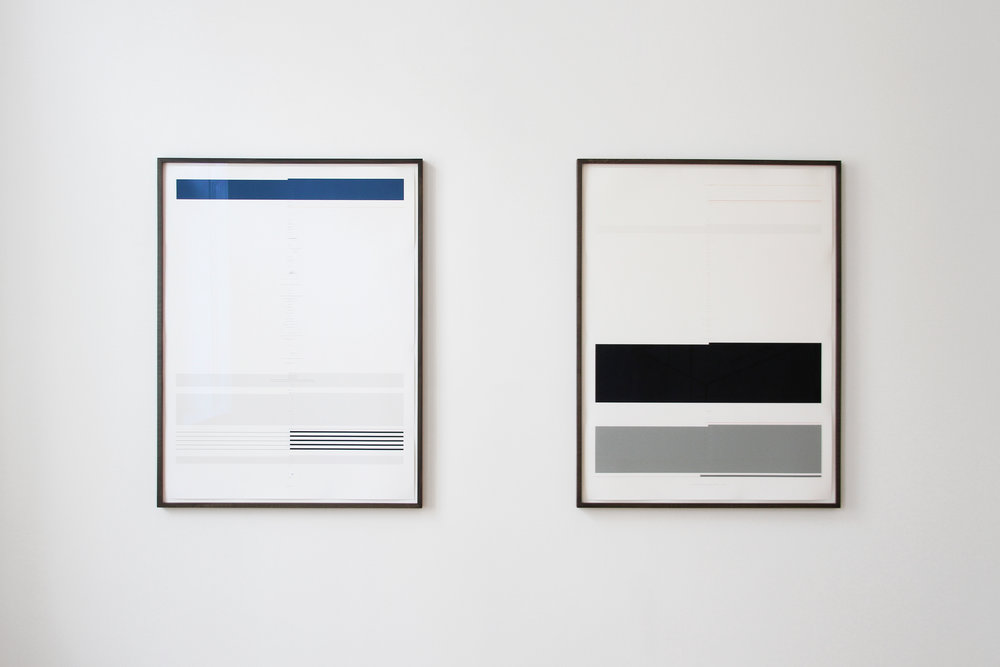 Ulrich Nausner, Untitled (Perception) & Untitled (Conception), both: 2016, Pigmentprint on Hahnemühle, 84 x 64 cm, 2 + 1AP