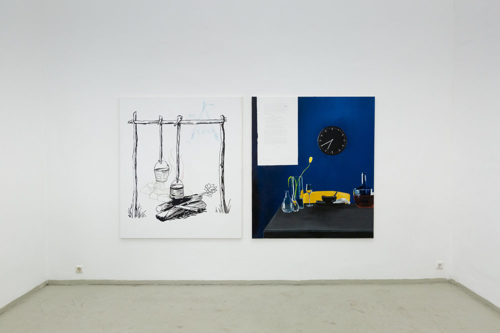 Stuck in the Middle Class with You, installation view, 2017 Photo: Philipp Friedrich