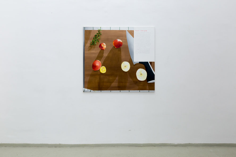 Ikea 1, oil on canvas, 100 x 125 cm, 2017 Photo: Phillip Friedrich
