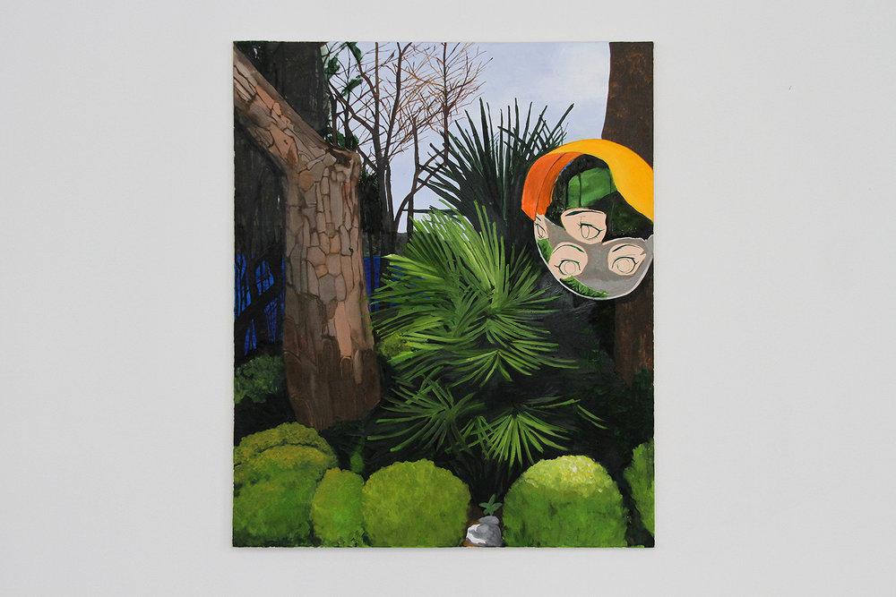 Mini Coup, 2016, oil on canvas 115 x 95 cm