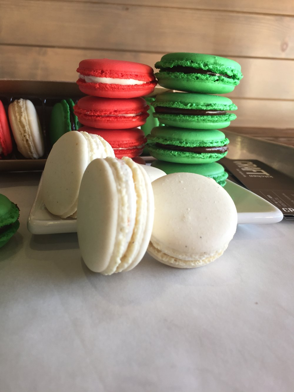 CRAFTkitchen Las Vegas Holiday Macarons.JPG