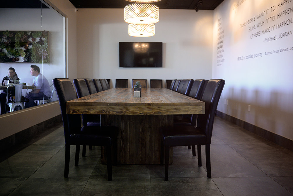 we are so thrilled to share the progress of our private dining room with you all today last time we wrote about it things were looking - Private Dining Rooms Las Vegas