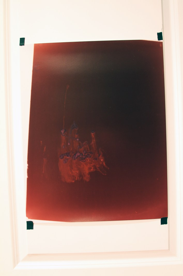 From Earth Closer to Venus. Semen C-Print 2008