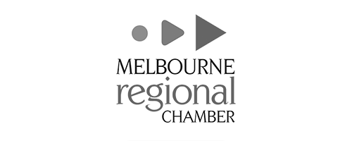 Proud members of the Melbourne Regional Chamber