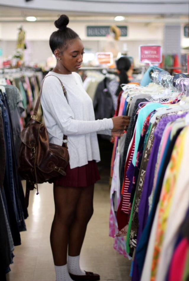 Thrift stores - Going thrift shopping is like opening a portal to the past. You can find tons of good treasures that are coming back into style. Be a trendsetter by finding unique pieces that will make your outfits pop. Finding clothes in thrift stores is a bit like treasure hunting and putting a new spin on an old item. Sometimes you can even get so lucky as to find brand-new clothes tucked into the depths of a thrift store. Jackpot! Plus, you'll save big bucks by buying clothes from a thrift store instead of straight off the rack.