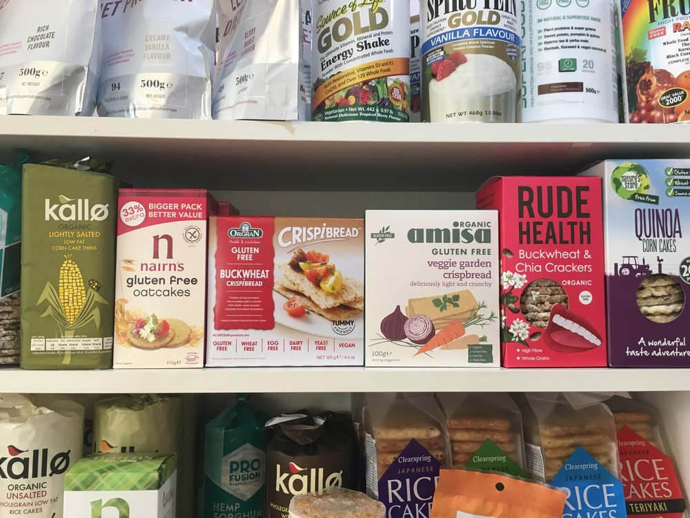 WIDE RANGE OF HEALTHY PRODUCTS