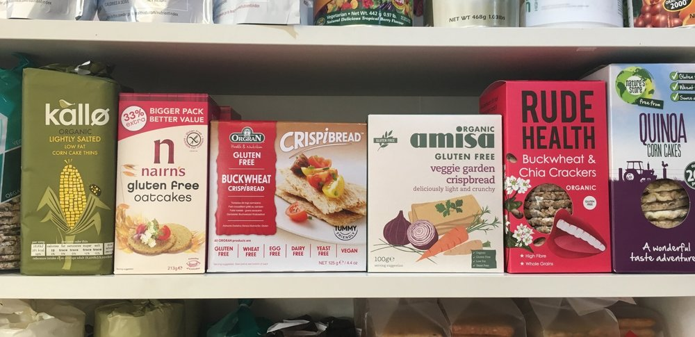 STOCKISTS OF A WIDE RANGE OF HEALTH FOOD PRODUCTS