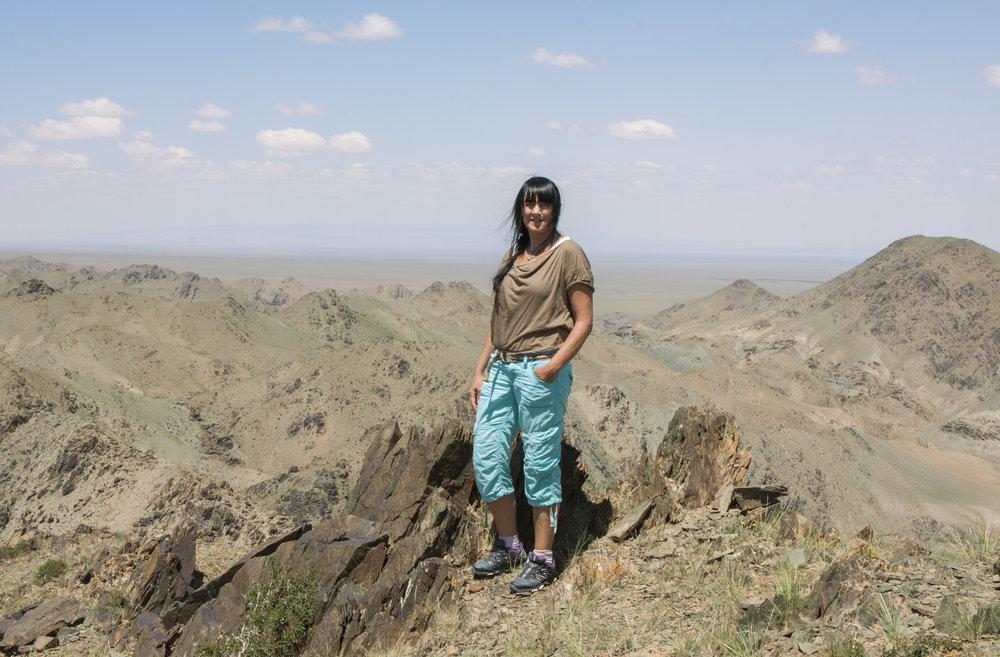 Annine, Gobiørkenen i Mongolia, 2011