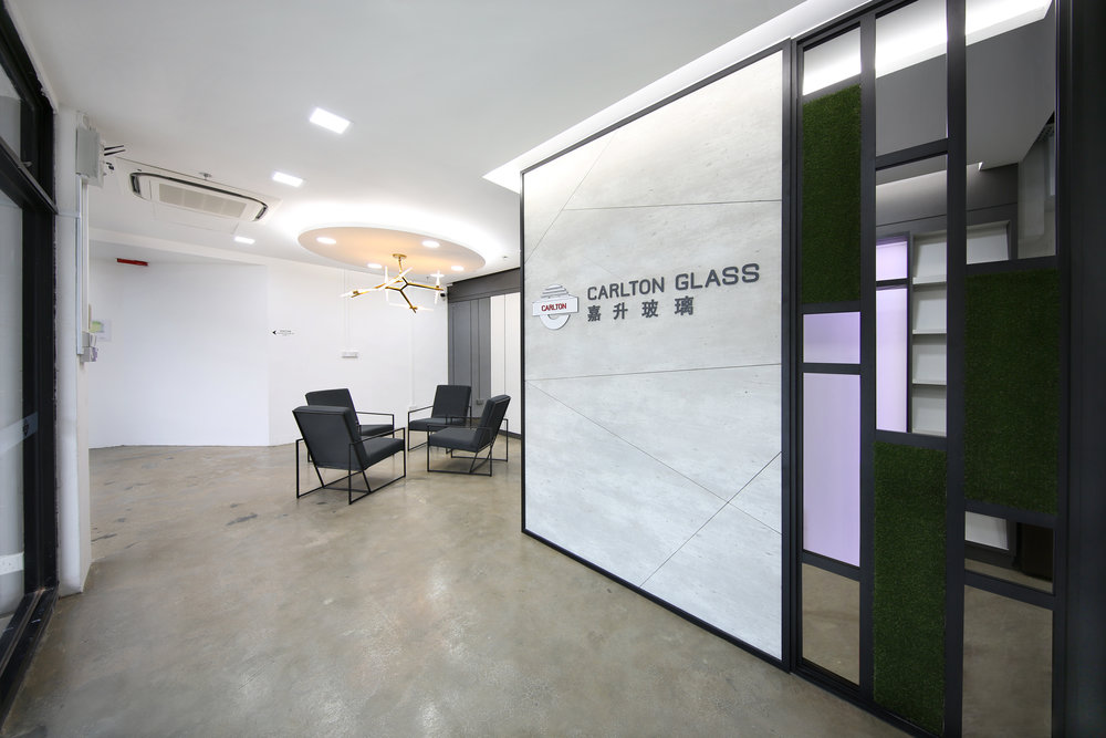 CONSULTANCY  At Carlton Glass, you'll benefit from a strong team of sales personnel, glass engineers and product developers, not to mention the best European and Taiwanese technology.  We have more than 30 years' experience in glass production, customisation, consultancy, maintenance as well as glass feature design. Let us make your glass journey smooth, quick and hassle-free.   Visit our   Project Galleries   to see how we've helped others like you.