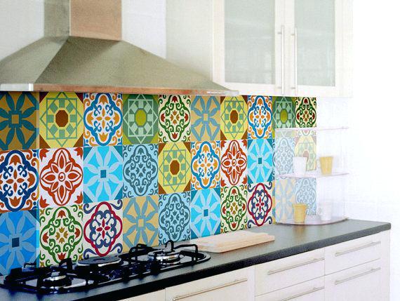 Vintage Tiles Print