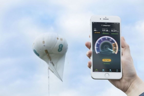Drones could be used alongside 4G balloons to help provide coverage.