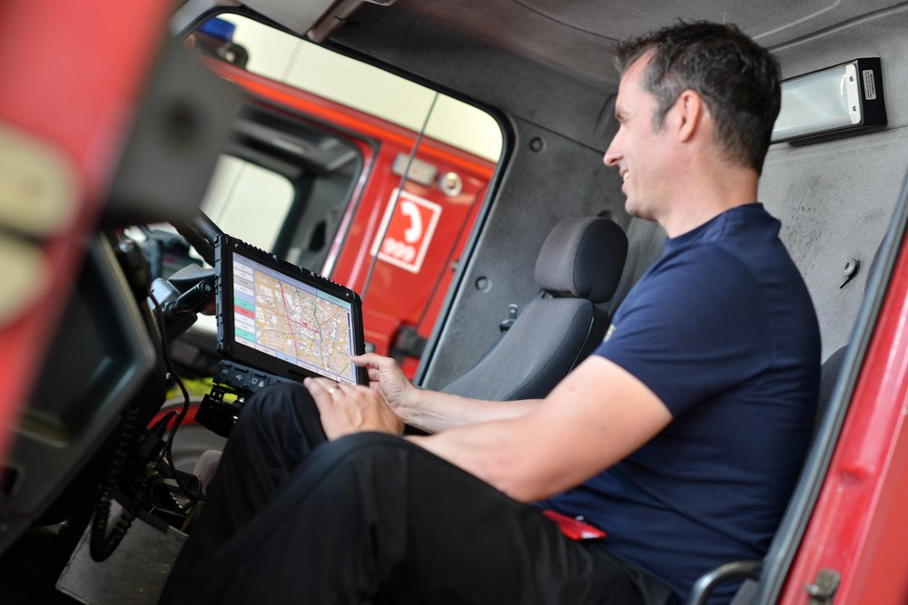 Fire Officer using Seed Software
