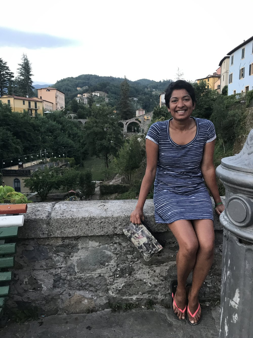 Credit: Antonella Gigli. At Barga in Garfagnana county in Italy. Thank you Antonell for hosting me and bringing me into your awesome, big life in Italia.