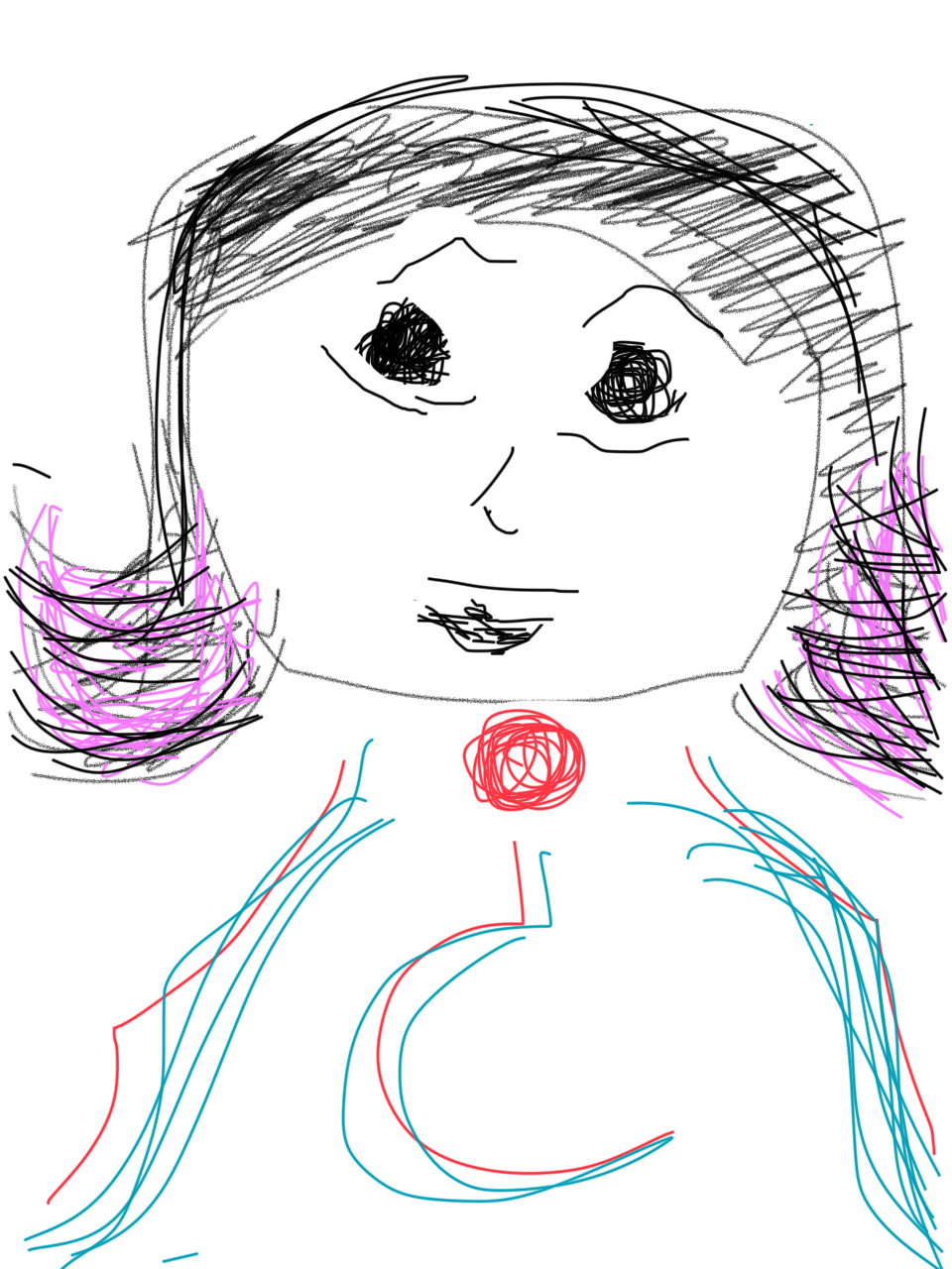 Credit: Nirupa Umapathy. Fat Finger Drawings. Trusty iphone and a finger is all you need