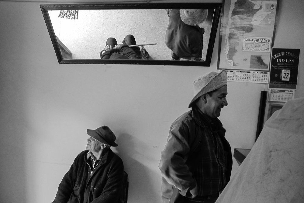 Miners. Bolivia.