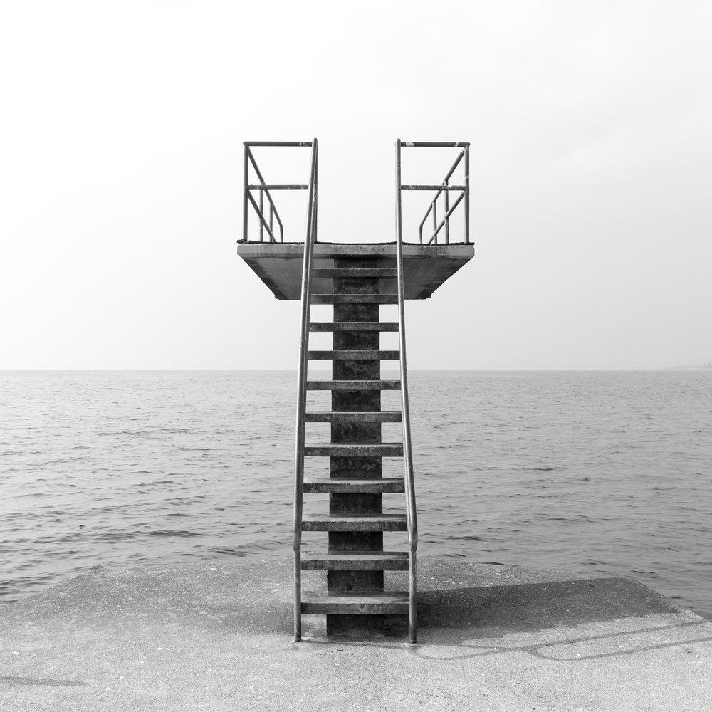 Diving board.