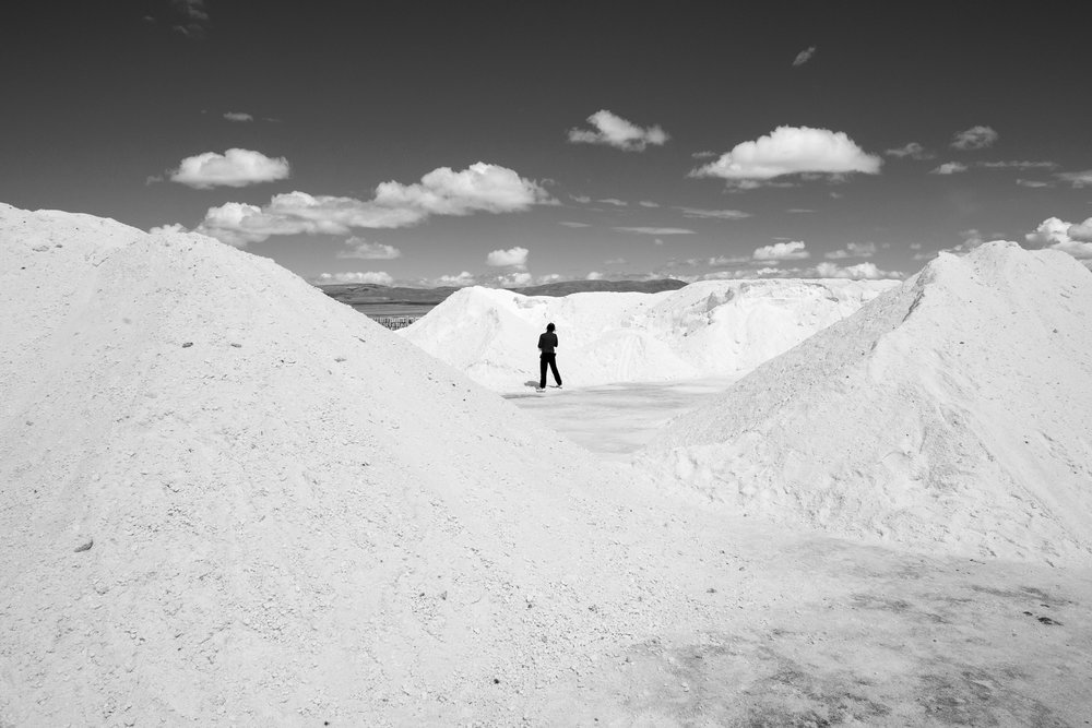 Salt mine.Argentina