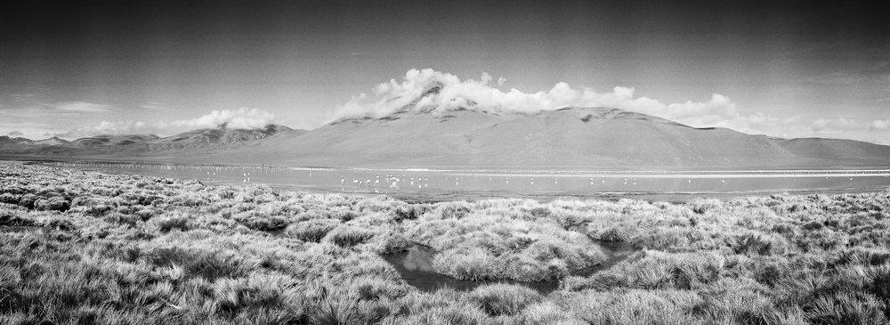 Bolivian highland. Camera: Noblex. Film: Kodak Portra 400