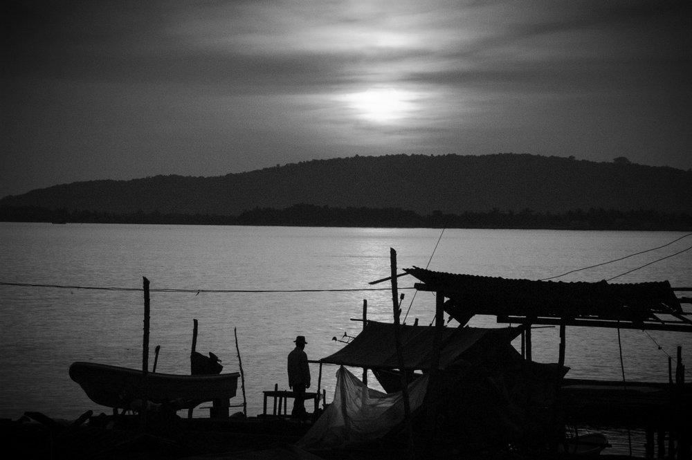 Thailand / Cambodia boarder.