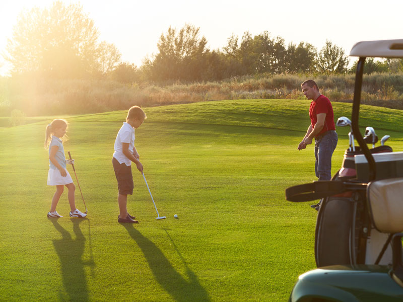 Junior Squirrels Golf Coaching Programme at Mannings Heath