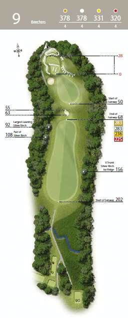Beechers - Hole 9 - The Waterfall Golf Course.png