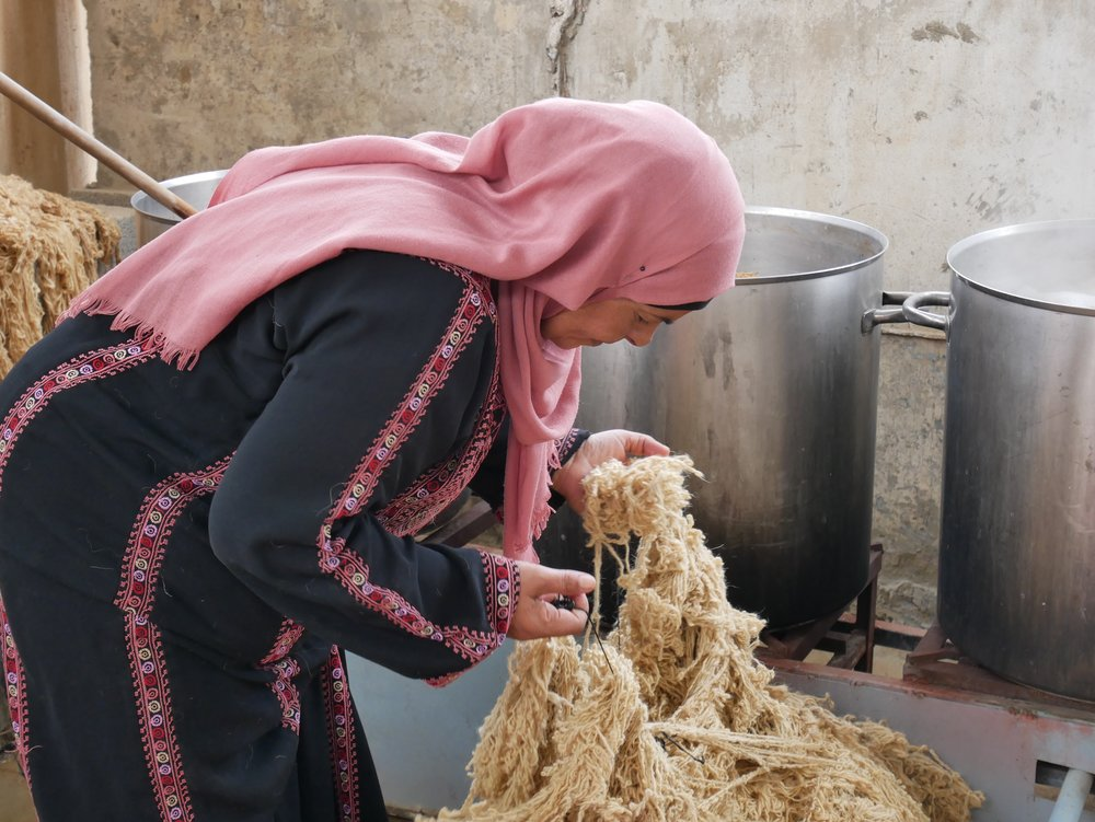 Handmade by Bedouin Weavers -