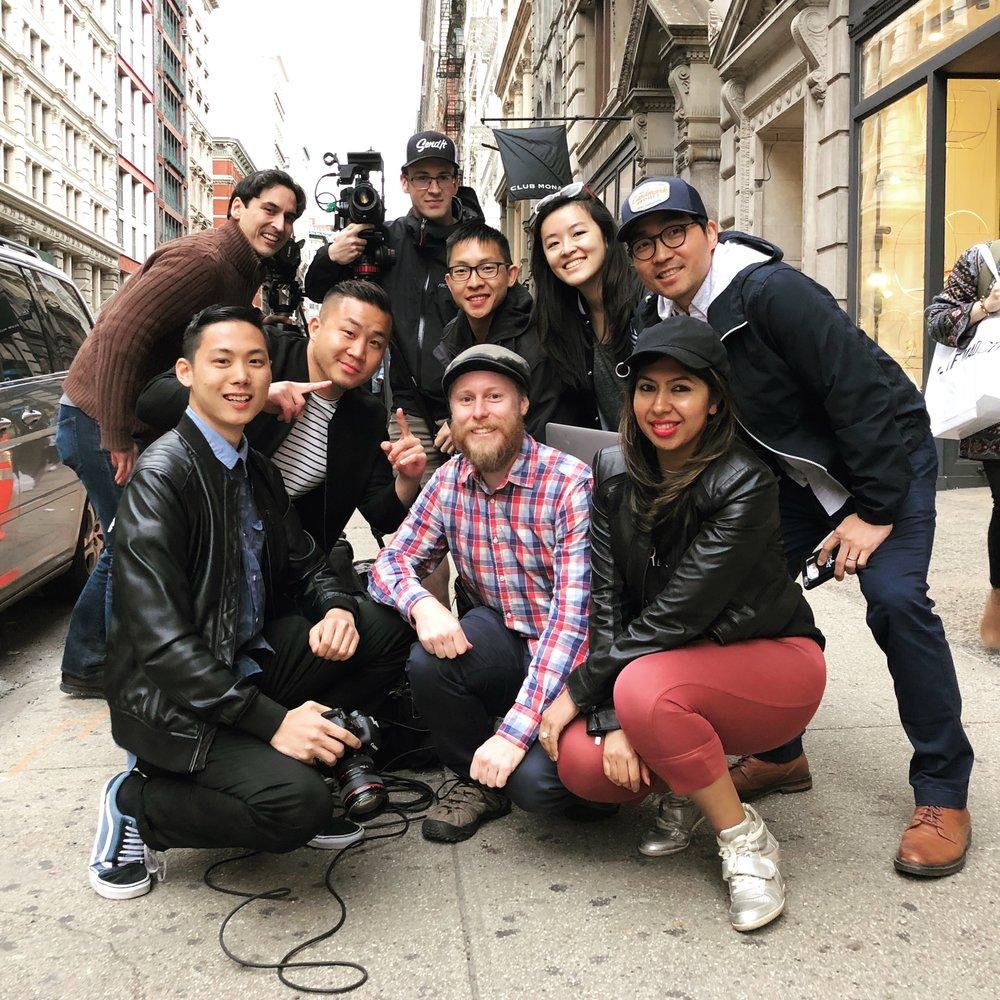 Day 2 Crew Wrap Photo with Inkstone & IWGroup!