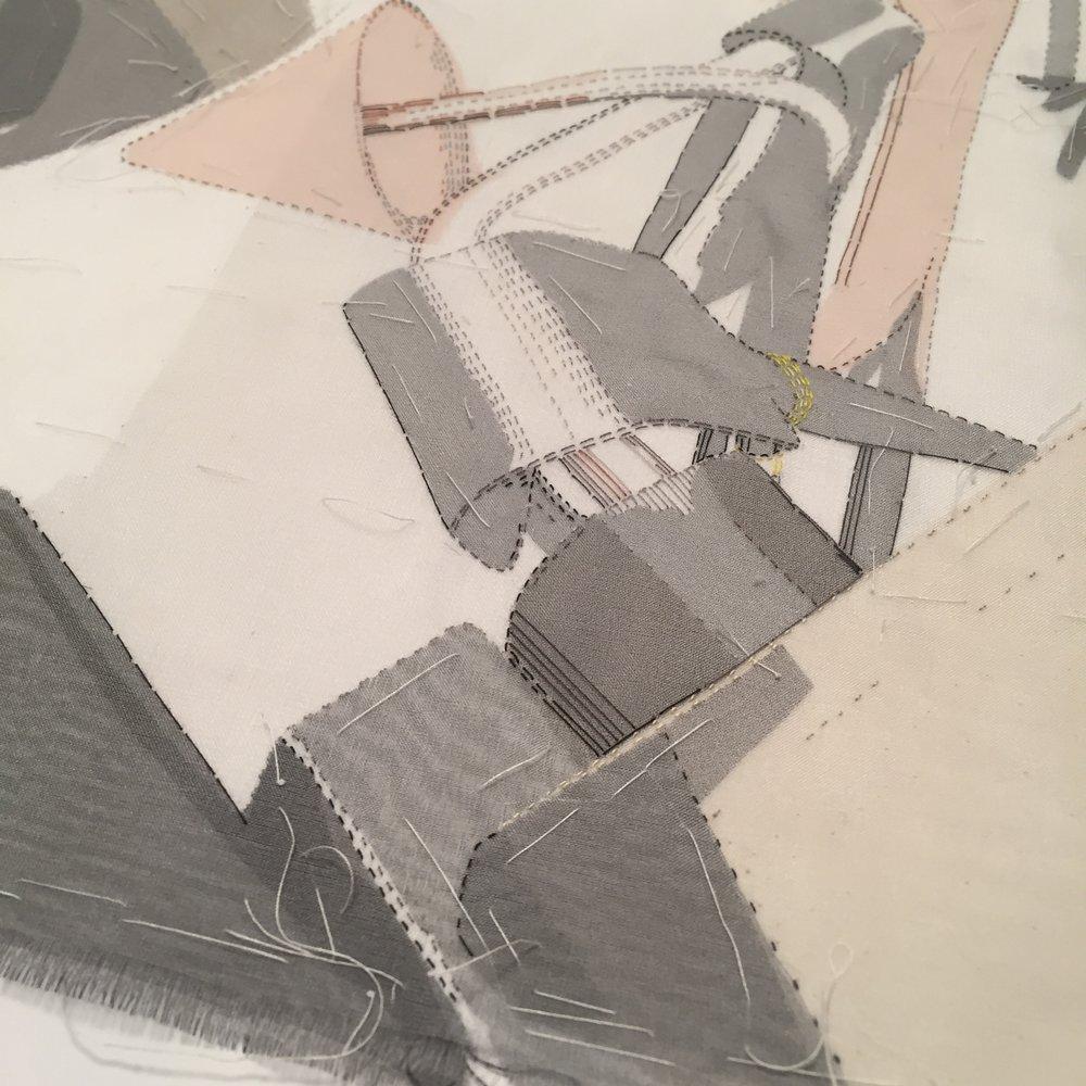 Work in progress - detail -Portrait of a Glass-blower