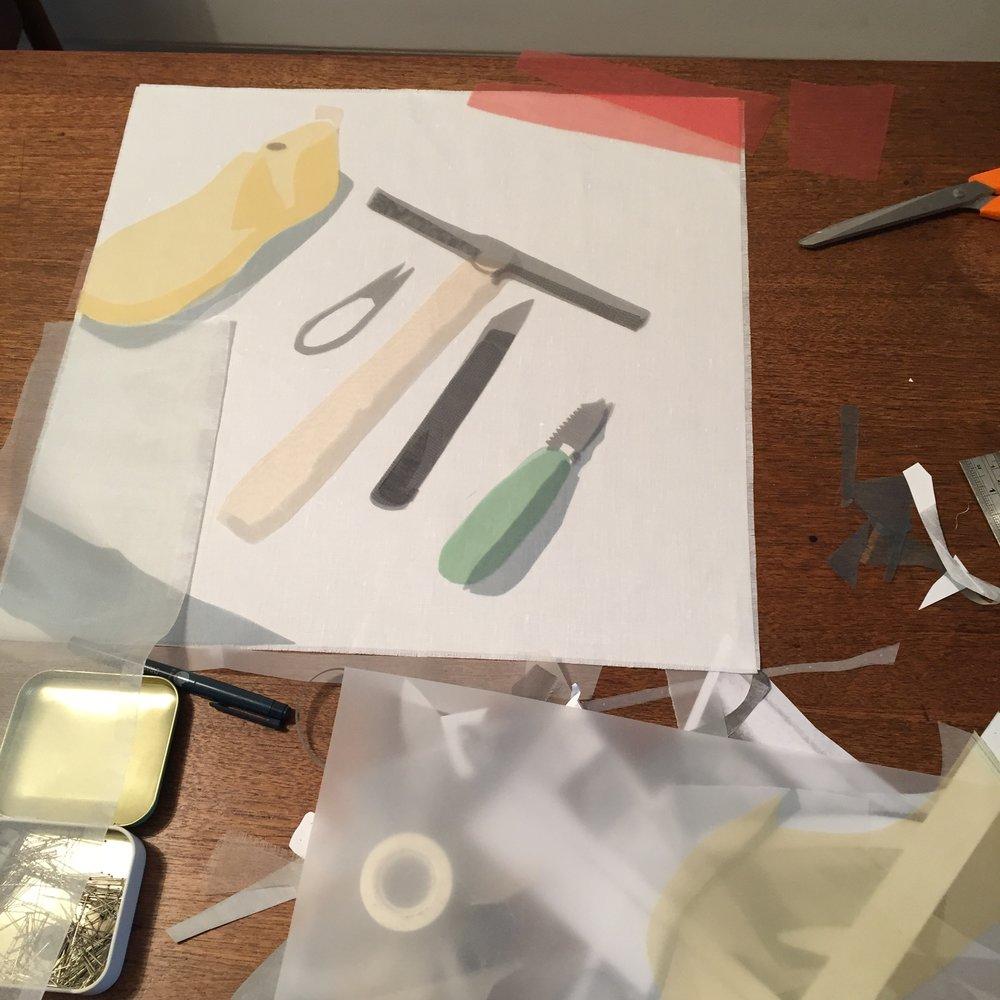 Work in progress - Portrait of a Shoemaker