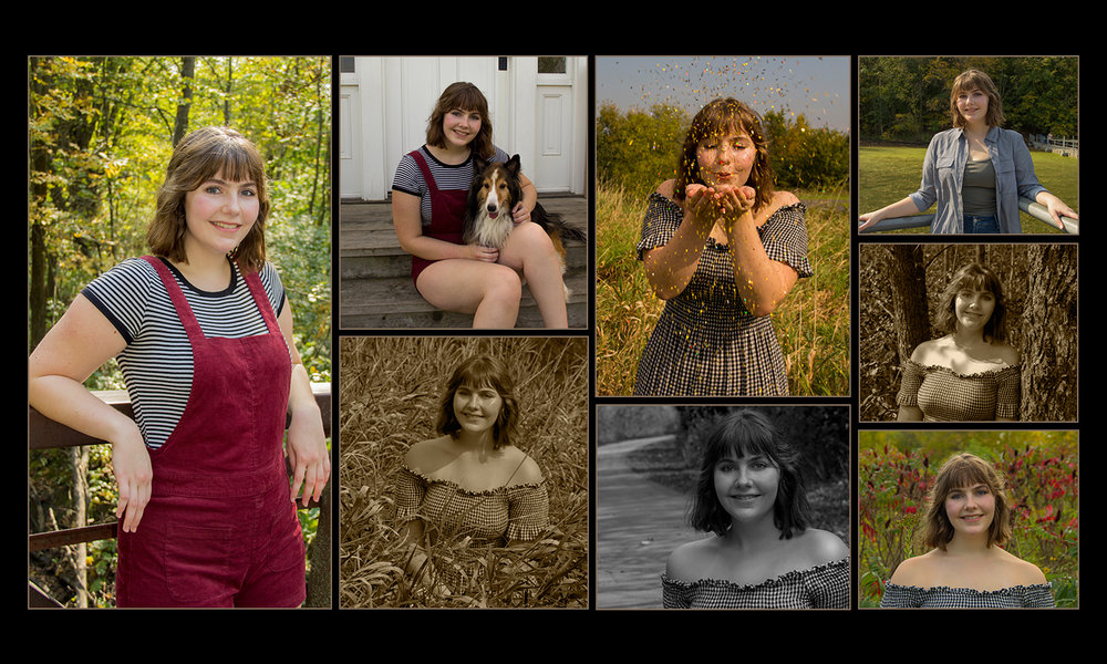 Customized Senior Picture Collage