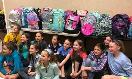 Alex and her girl scout troop come together to support youth in foster care.